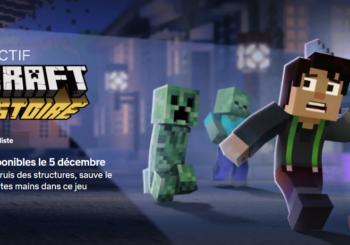 L'aventure interactive Minecraft de Teltales est en ligne