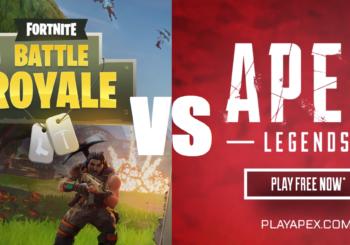 Apex Legends VS Fortnite : les différences entre les deux battle royale